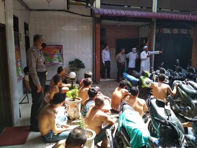 Sebanyak 105 Orang Tahanan Polsek Medan Area Terima Siraman Rohani