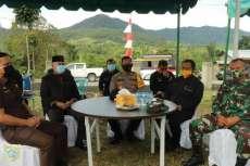 Bersama Forkopimda, Pj Bupati Pakpak Bharat Resmikan Desa Tangguh Bencana Desa Nduma Sindeka