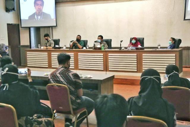 Pemko Sambut Kedatangan 40 Mahasiswa IPB Lokakarya KKNT ke Medan