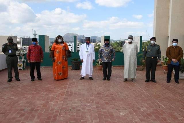 Atase Pertahanan RI Dampingi Dubes RI-Abuja Perkuat Kerjasama Militer dengan Menhan Nigeria