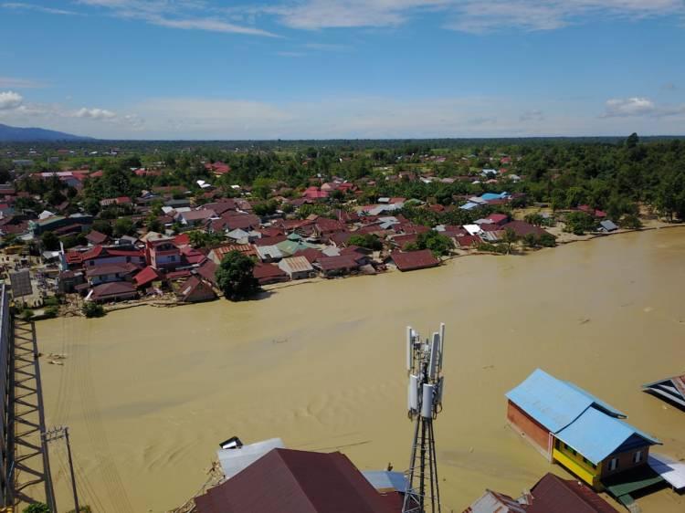 Kelistrikan Sejumlah Wilayah di Luwu Utara Berangsur Pulih