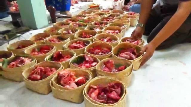 Gubernur Sumut Imbau Pembagian Daging Kurban Gunakan Besek, Dorong Produk UMKM