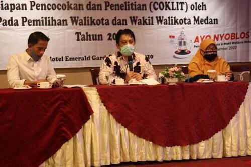 Pemko Dukung Pelaksanaan Coklit Data Pemilih Pilkada Medan