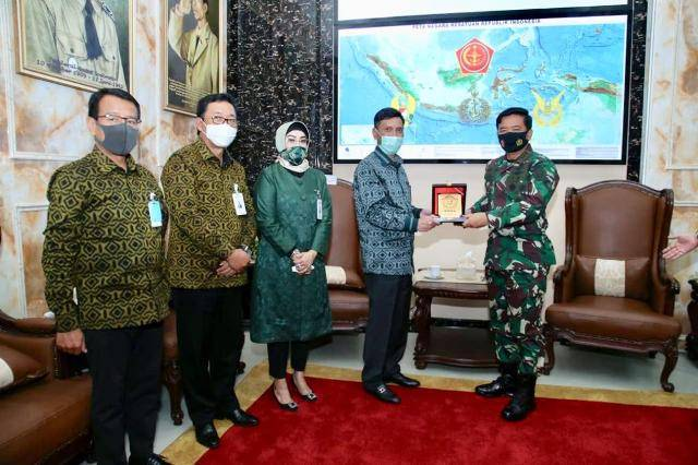 Panglima TNI Terima Audiensi Dirut Baru BNI Herry Sidharta