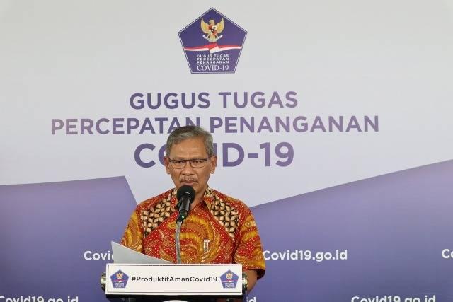 Bertambah 1.671, Kasus Positif Covid-19 di Indonesia Jadi 74.018