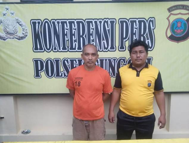 Kedapatan Bawa Pil Ekstasi, Hendri Ditangkap Tekab Polsek Sunggal