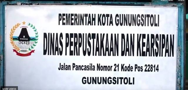 Wali Kota Launching Perpustakaan Digital Pemko Gunungsitoli