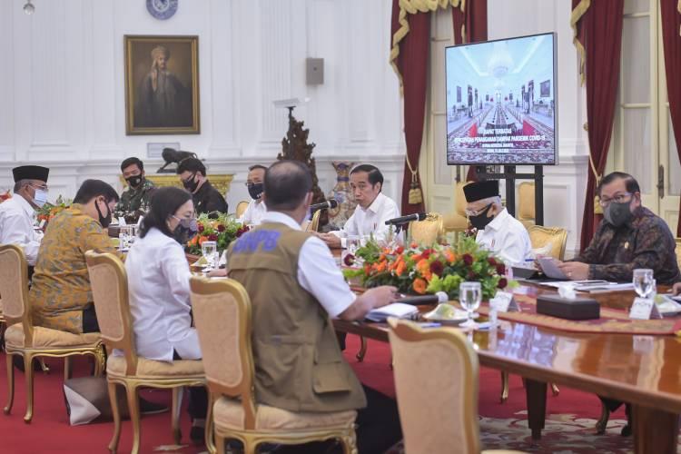 Termasuk Sumut, Presiden Minta Beberapa Provinsi Prioritas Laksanakan 'Testing, Tracing dan Treatment'