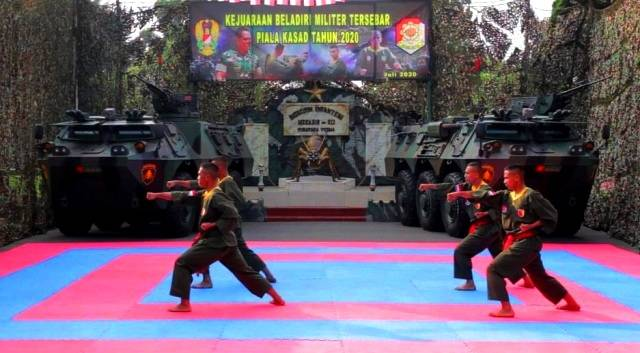 Atlet Bela Diri Militer Kodam Brawijaya Dipersiapkan Rebut Piala KASAD