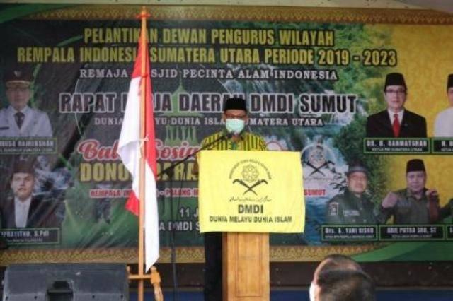 Plt Wali Kota Medan Minta Remaja Masjid Berperan Aktif Lestarikan Lingkungan