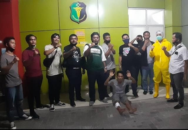 Dua Jambret di Jalan Madio Santoso Akhirnya Ditangkap Polisi, 1 Pelaku Ditembak