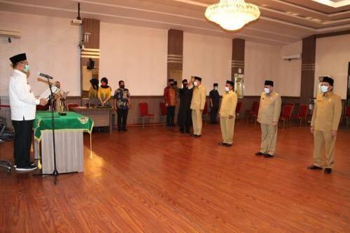 Hari Ini Empat Pejabat Eselon II Pemko Medan Dilantik