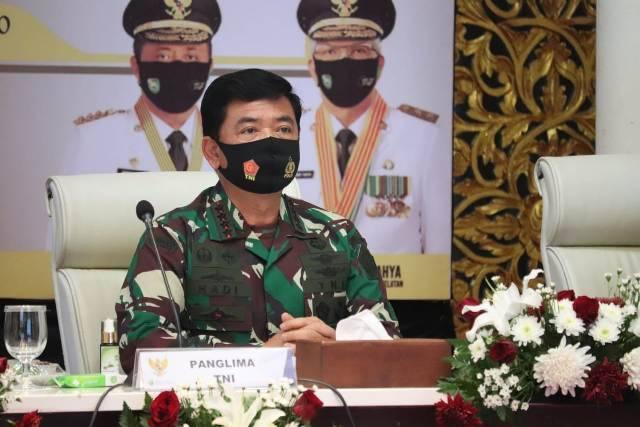Panglima TNI: Pertumbuhan Ekonomi Tidak Boleh Mengurangi Kewaspadaan Penanganan Covid-19