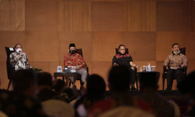 Menko Polhukam dan Mendagri Kunker ke Sumut, Tito Karnavian: Pilkada Serentak Diharapkan Bawa Dampak Positif untuk Perekonomian