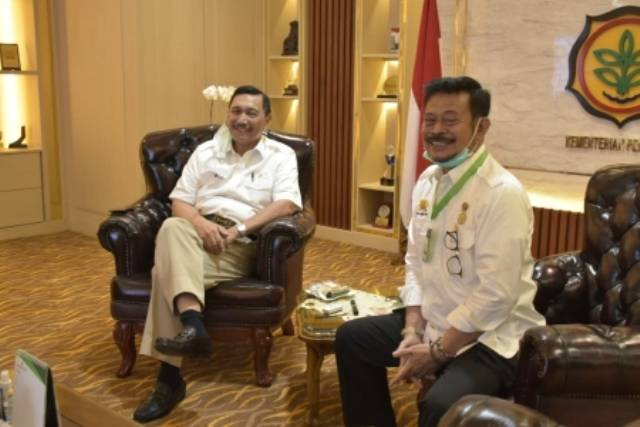 Dua Menteri Akan Garap Food Estate di Humbahas