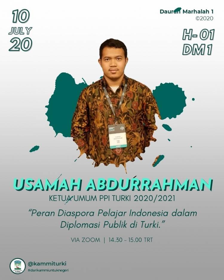 KAMMI Turki Gelar Daurah Marhalah I Virtual Perdana, Bentuk Mental Pemimpin dari Mahasiswa Diaspora Indonesia