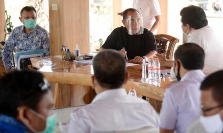 Gubernur Sumut Dukung Rencana Revitalisasi Lahan PT KAI di Delitua