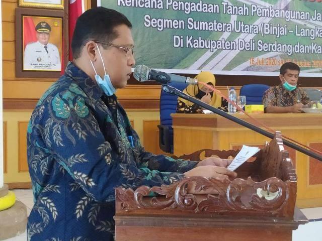 Bupati Langkat Dukung Pembangunan Jalan Tol Binjai-Langsa