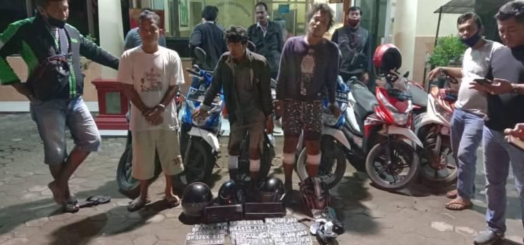 Dua Orang Komplotan Curanmor Tumbang Ditembak Petugas Polsek Delitua
