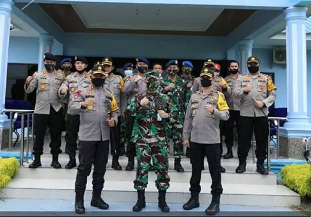 Kapolda Sumut Silaturahmi Bersama Danlanud Soewondo, Sinergitas TNI-Polri