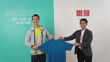 UNIQLO Indonesia Gandeng Daniel Mananta Sebagai Brand Ambassador UNIQLO Sport Utility Wear