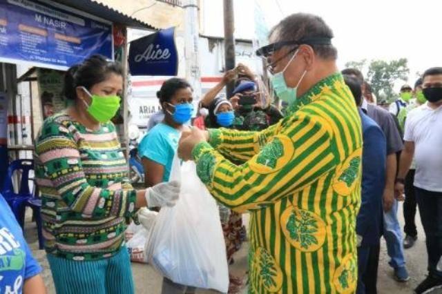 Permudah Warga Dapatkan Sembako, Plt Wali Kota Medan Apresiasi BRI