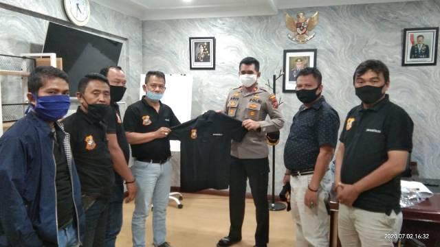 Kapolsek Medan Baru Bangga Jadi Bagian Mitra Pewarta Polrestabes Medan
