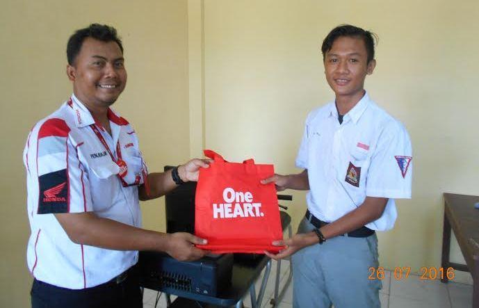 Siswa SMK Jaya Krama Antusias Ikuti Praktek Safety Riding