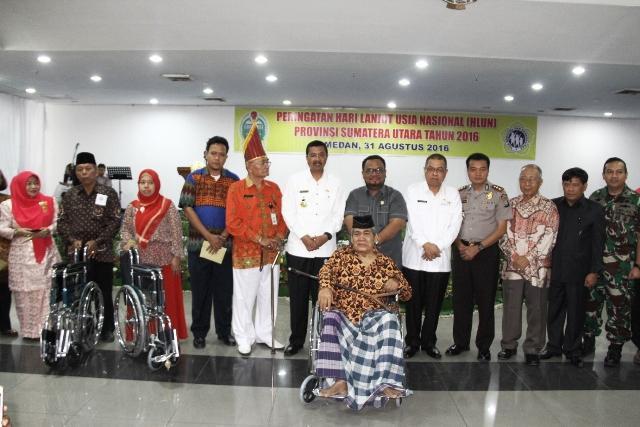Gubernur Sumut: Lansia Masih Potensial Dukung Pembangunan