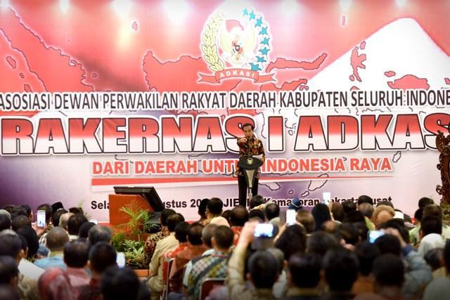 Presiden Jokowi Sudah Setujui RPP Hak Keuangan Pimpinan/Anggota DPRD