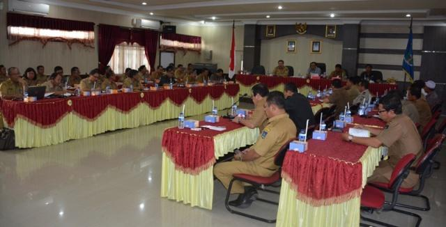 Walikota Sibolga Desak SKPD Tingkatkan Kinerja