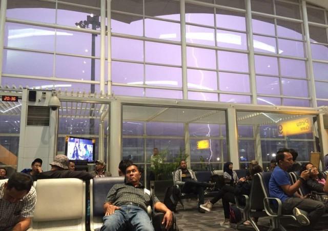 Cuaca Buruk, Beberapa Penerbangan di Bandara Kuala Namu Sempat Ditunda