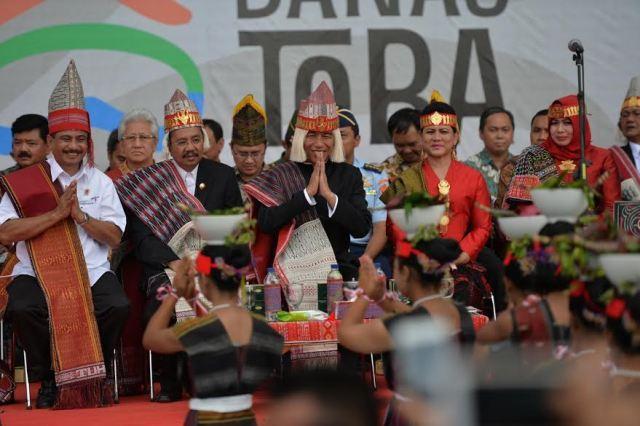 Presiden Berharap Karnaval Kemerdekaan Pesona Danau Toba Jadi Agenda Tahunan