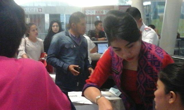 Sistem Chek In Bermasalah, Ratusan Penumpang Lion Air Protes di Bandara Kuala Namu