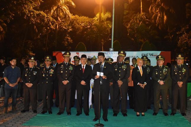 Meriahkan HUT RI ke-72, Gubernur Sumut  Erry Baca Puisi Karawang Bekasi