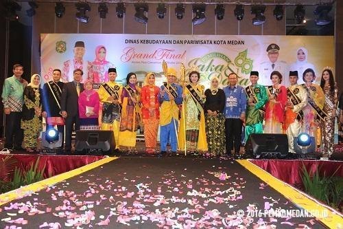 M Syahrir Lubis dan Firza Jelita, Jaka Dara Kota Medan 2017