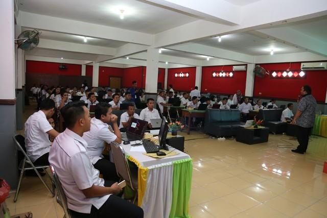 Menuju Pemerintahan Berbasis Elektronik, Pemkab Labura Gelar Pelatihan Pengelolaan Website SKPD