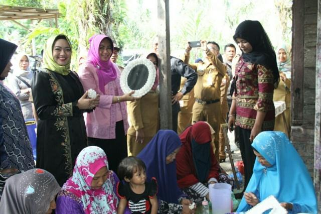 Evi Diana Dukung Produk Unggulan Tanjung Balai Peroleh Hak Paten