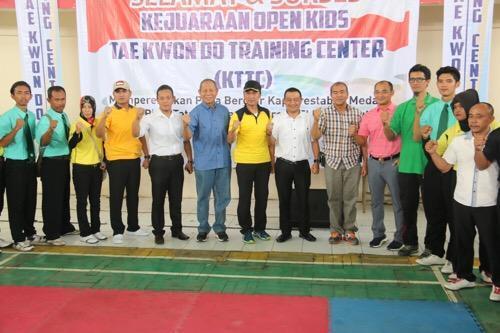 Kapolrestabes Medan Buka Kejuaraan Open Kids Taekwondo Training Center se-Sumut