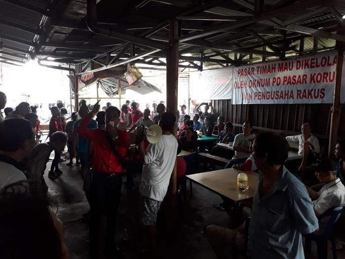Hari Ini Satpol PP Relokasi Pedagang Pasar Timah