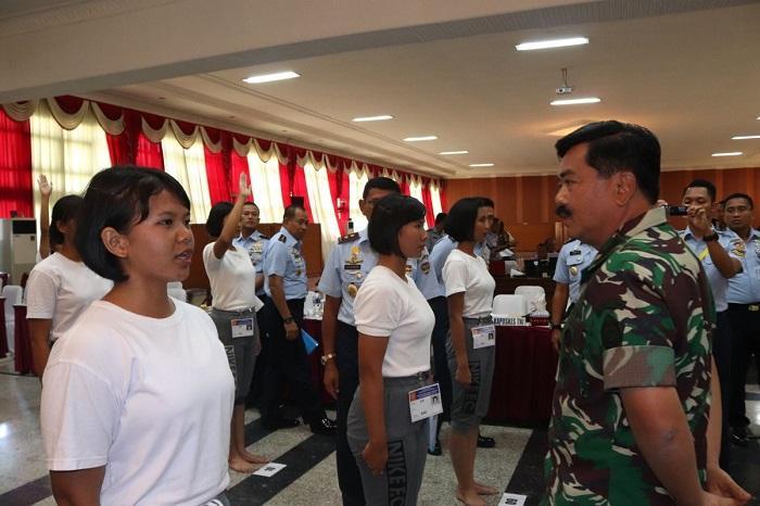 Panglima TNI Pimpin Sidang Pantukhir Taruna-Taruni
