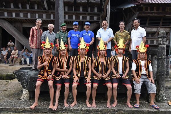 Pj Gubsu Eko Subowo Puji Wisata Bawomataluo di Nias Selatan