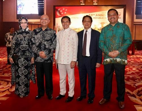 Walikota Medan Hadiri Peringatan Hari Nasional ke-53 Republik Singapore