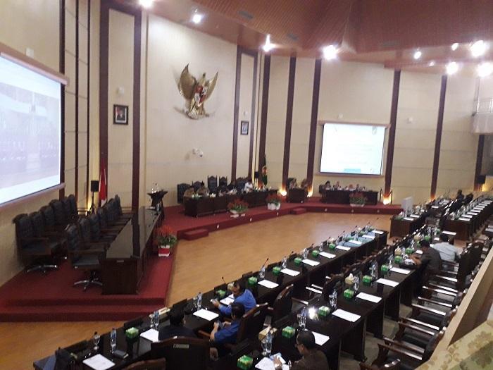 DPRD Medan Gelar Paripurna Pengantar LPJ APBD TA 2017