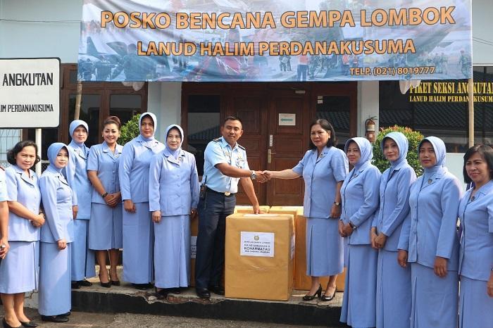 PIA Gabungan III Koharmatau Kirim Bantuan Gampa Lombok