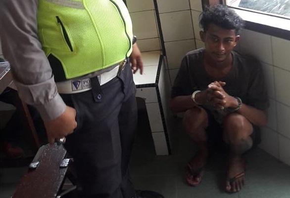 Maling Toko di Pasar Sukaramai, Sitorus Digelandang ke Kantor Polisi