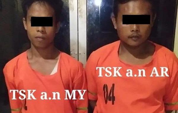 Dua dari Empat Pelaku Pencuri Lembu Ditangkap Polsek Perdagangan