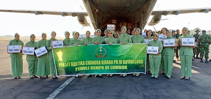 TNI dan Polri Kembali Kirim Bantuan Kemanusiaan ke Lombok