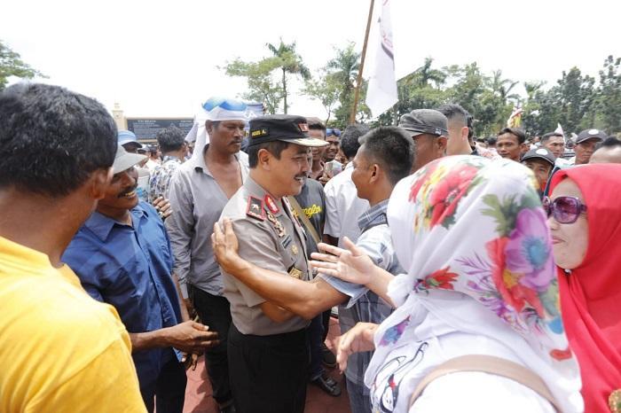 Kapoldasu Copot Kasat Pol Air Tanjungbalai Pasca Unjuk Rasa Nelayan di Mapolda Sumut