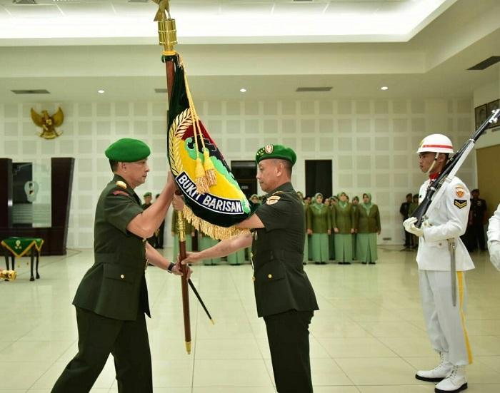 Pangdam I/BB Resmi Dijabat Mayjen TNI M Sabrar Fadhilah